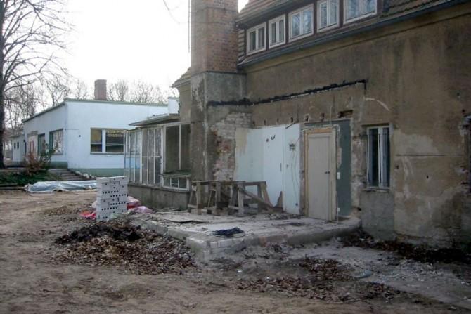 2000 bis 2004 - Sanierung bis auf die Grundmauern