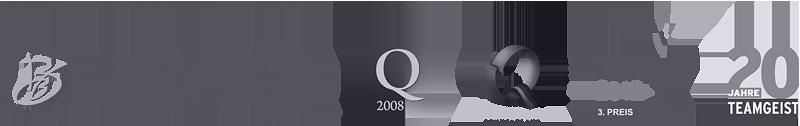 Auszeichnungen und Qualifikationen der Teamgeist GmbH