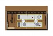 Segelloft - Raumplan: Eisstockarena