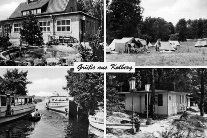 Postkarte mit Grüßen aus Kolberg - Mitte der 70er Jahre