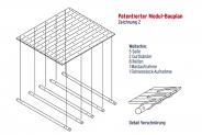 patentiertes Modulsystem / Bauplan 2: Mega-Teamfloß