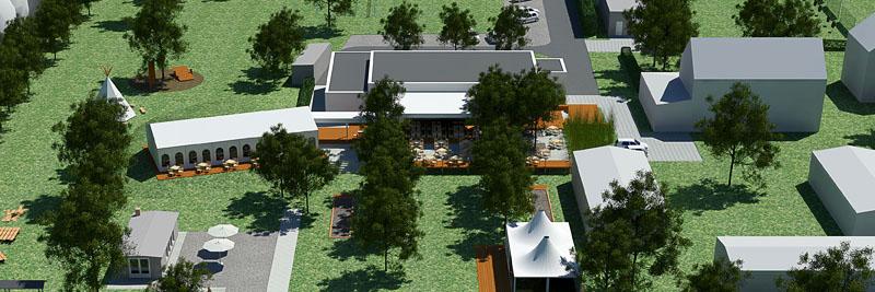 3D-Ansicht: Teamgeist-Yachtclub Eventlocation am See