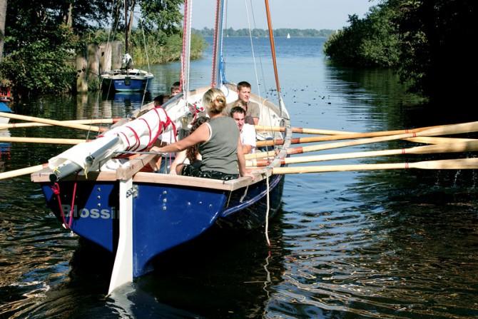Naturbelassender Zugang der Teamgeist-Flotte zum Wolziger See
