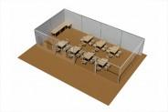 Seelounge - 3D-Ansicht: Grundbestuhlung