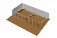 Seelounge - 3D-Ansicht: Stuhlkreis