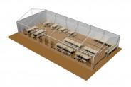 Segelloft - 3D-Ansicht: Grundbestuhlung