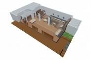 Yachtclub - 3D-Ansicht: Basis (ohne Grundbestuhlung)