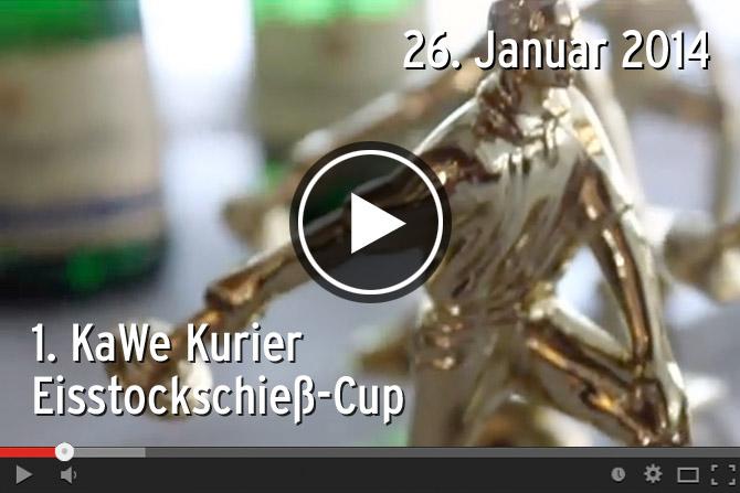 Am 26.01.2014 fand in der Eistockarena im Teamgeist-Yachtclub der 1. KaWe Kurier Cup im Eisstockschießen statt.