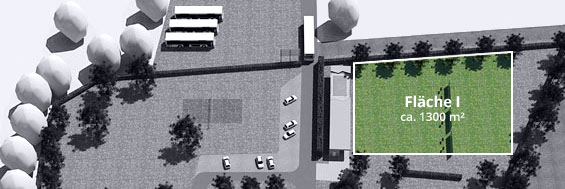Veranstaltungsfläche 1 / ca. 1.300 m²