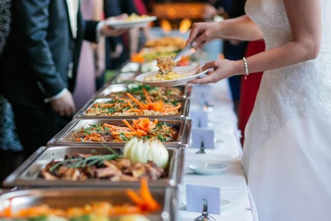 Professionelles Catering mit hauseigener Küche